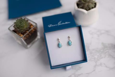Bella Larimar Earrings
