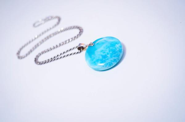 Foundation Larimar Necklace