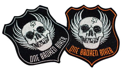 Small One Broken Biker Patch