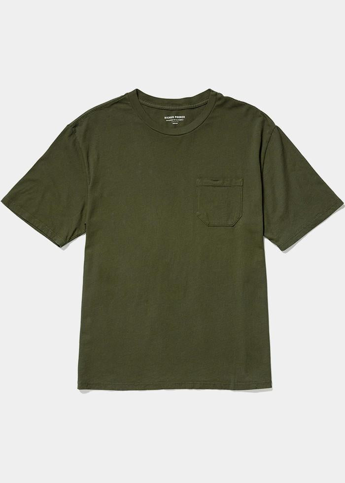 Pocket Tee- Ivy