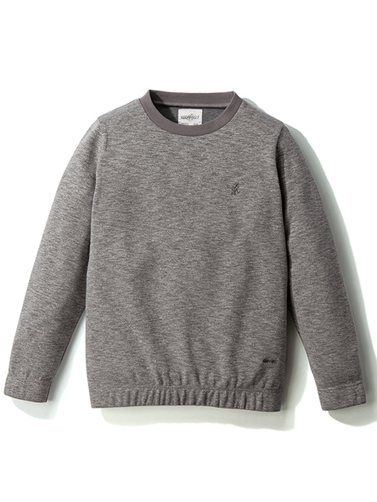 Coolmax Knit Sweater- Charcoal