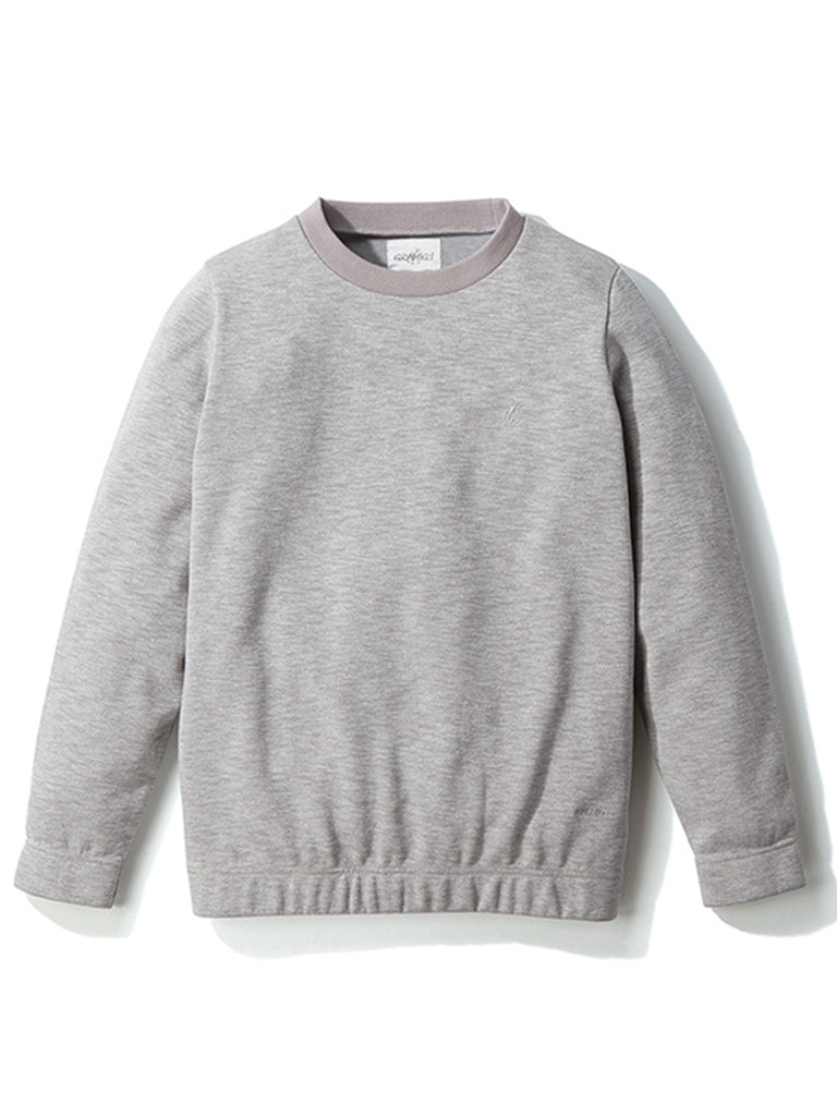 Coolmax Knit Sweater- Heather Grey