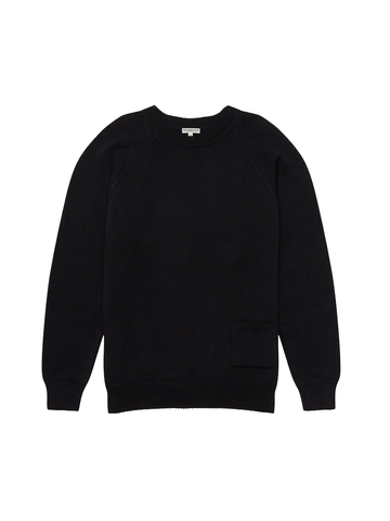 Barge Sweater- Coal