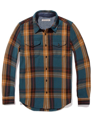 Blanket Shirt- Mallard Bodega Plaid