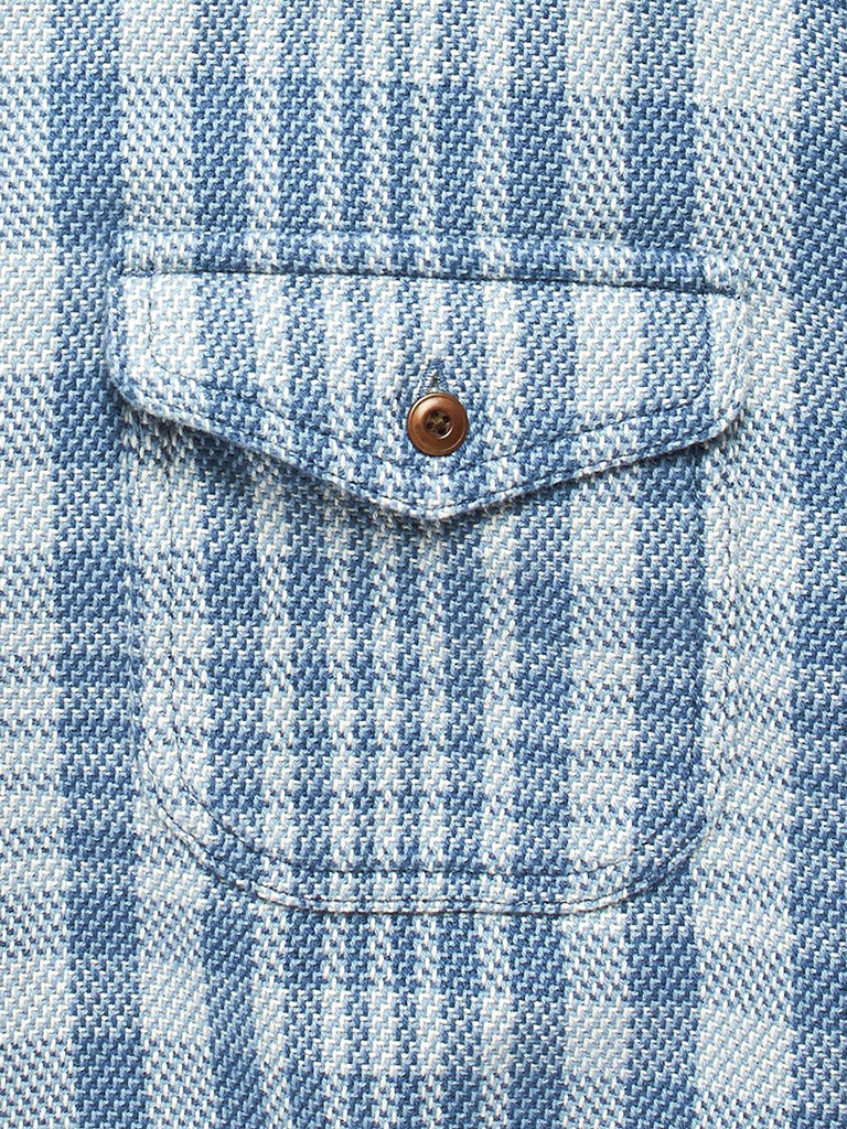 Blanket Shirt- Adriatic Lucent Plaid