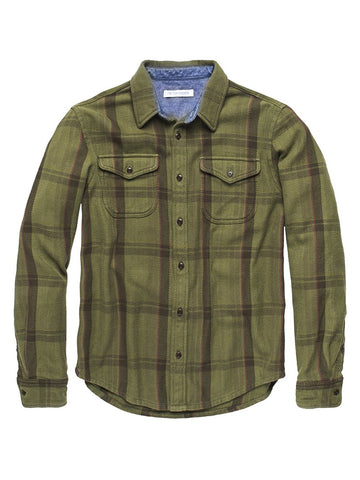 Blanket Shirt- Mangrove Cusco Plaid