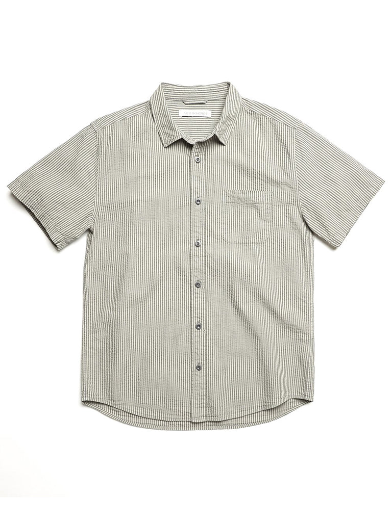 Stringer Seersucker Shirt- Marine Layer