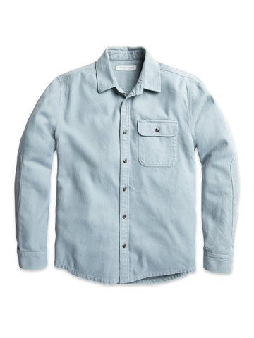 Rambler Shirt- Ash Blue
