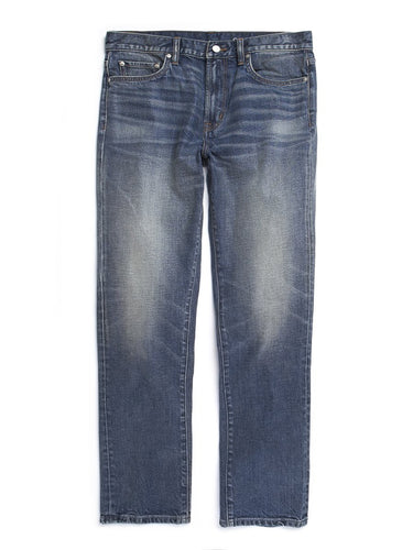 Local Straight Fit - Worn Indigo
