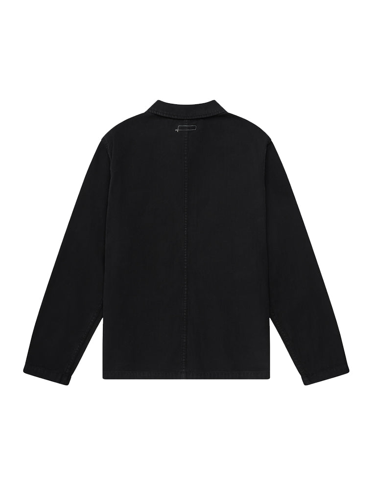 Worker Coat- Black