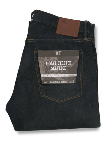 The Hamer Straight 10.5oz One Wash Stretch Selvedge