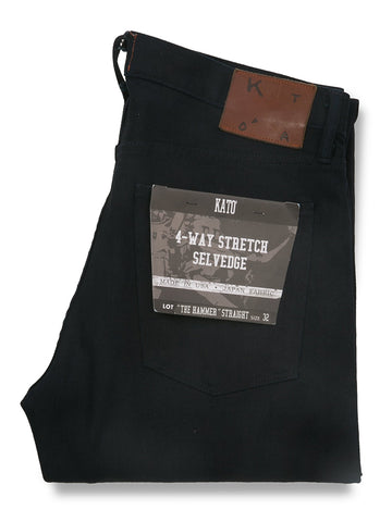 The Hamer Straight 10.5oz Night Selvedge