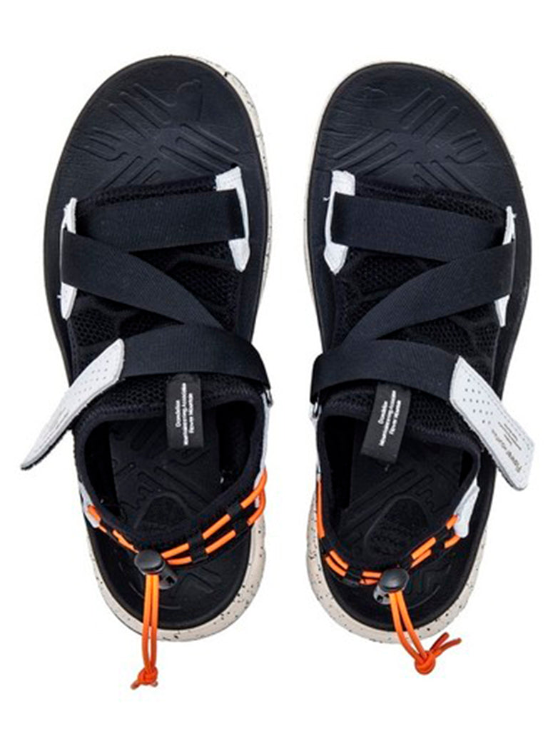 Nazca Sandal- Black/White