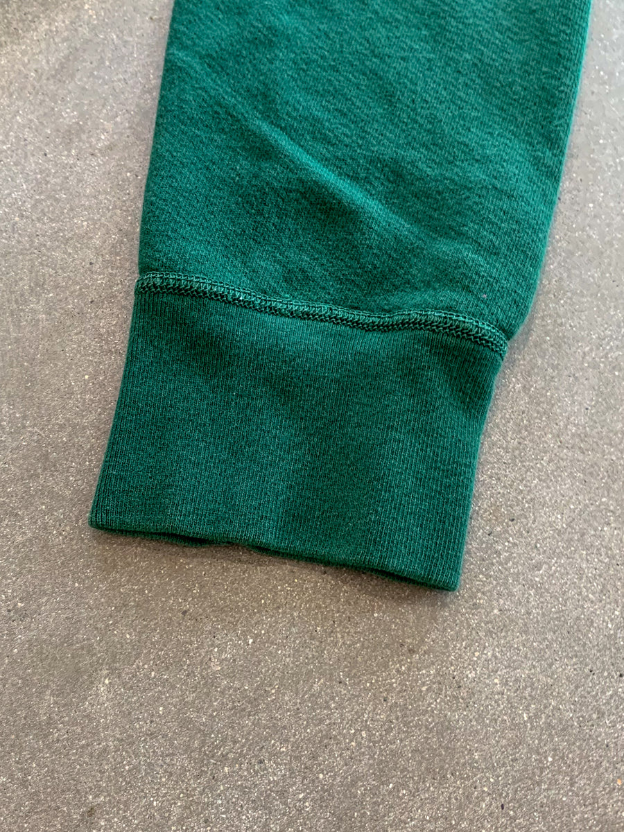 8 Oz Pigment Dyed Sweatshirt- Green