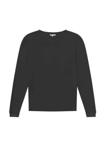 Camp Knit Long Sleeve- Coal