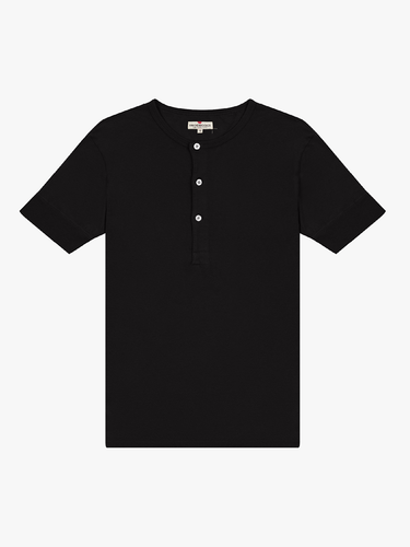 Henley Tube Tee- Coal