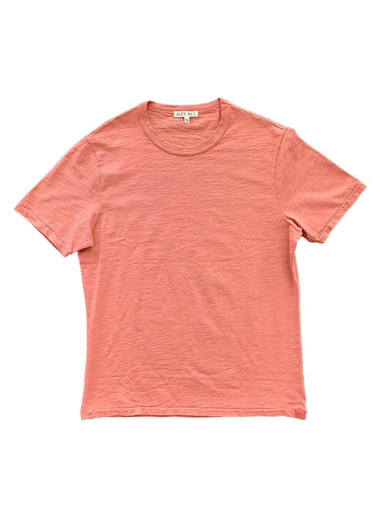 Standard T-Shirt in Slub Cotton- Dirty Rose