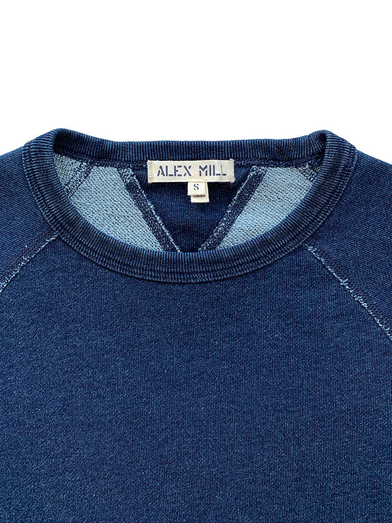 French Terry Sweatshirt in Dark Indigo