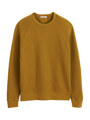 French Terry Sweater- Golden Khaki