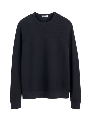 French Terry Sweater- Black