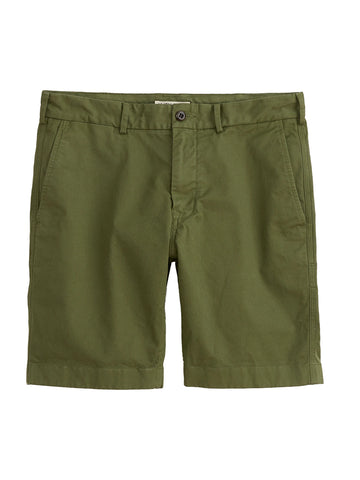 Standard Chino Shorts- Army Olive