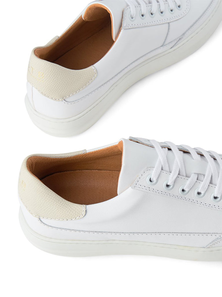 Aren Leather- White