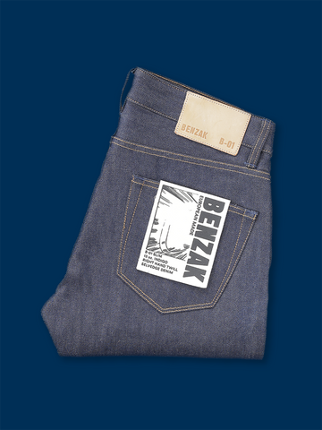 B-01 Slim 13 oz. Indigo Selvedge