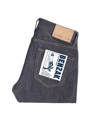 B-01 Slim- 15.5oz Kojima Selvedge
