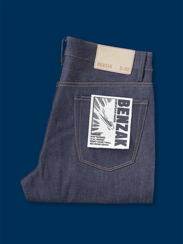 B-03 Tapered 13 oz. Indigo Selvedge