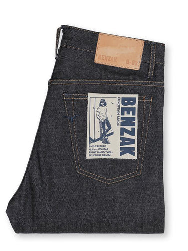 B-03 Tapered- 15.5 oz. Kojima selvedge