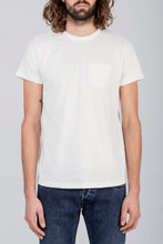 BT-01 Heavy Pocket Tee- Off White