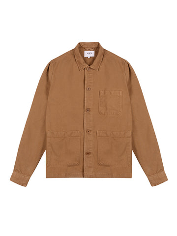 Chet Jacket- Brown Heavy Denim