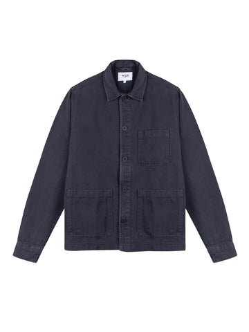 Chet Jacket- Navy Heavy Denim