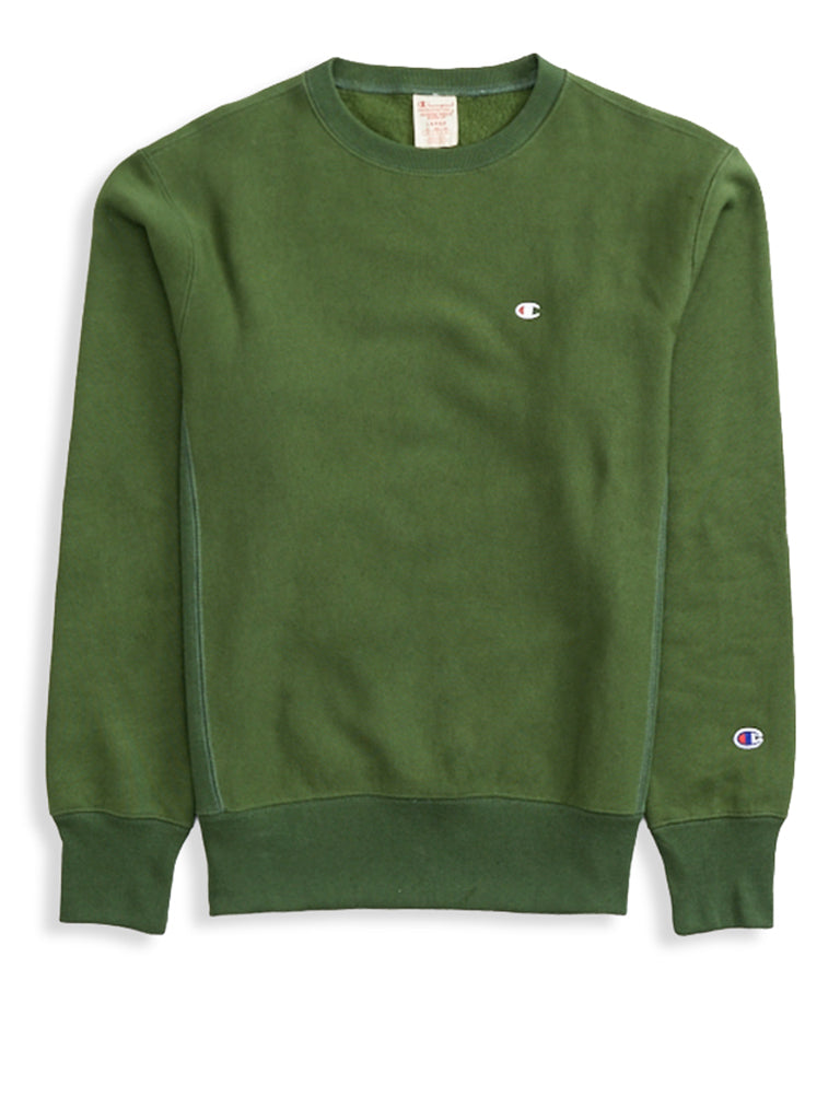 Crewneck Sweatshirt- Deep Pine Green