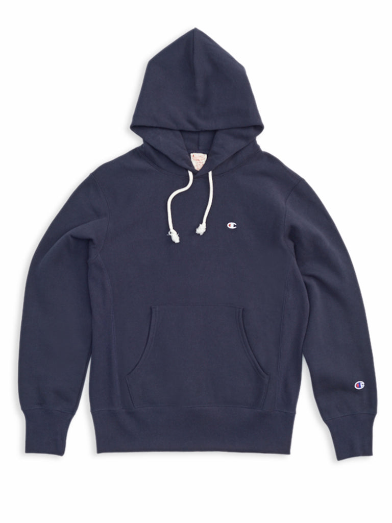 Hooded Sweatshirt- Navy