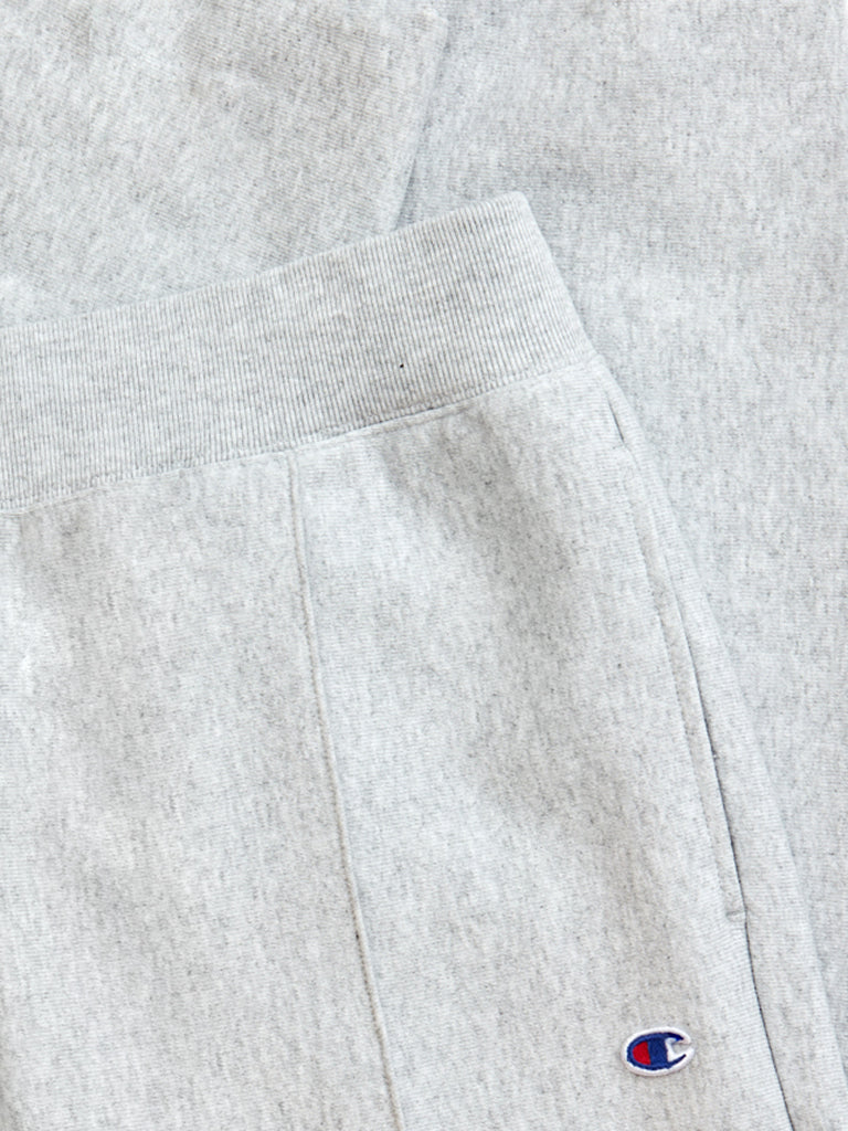 Rib Cuff Sweatpants- Grey