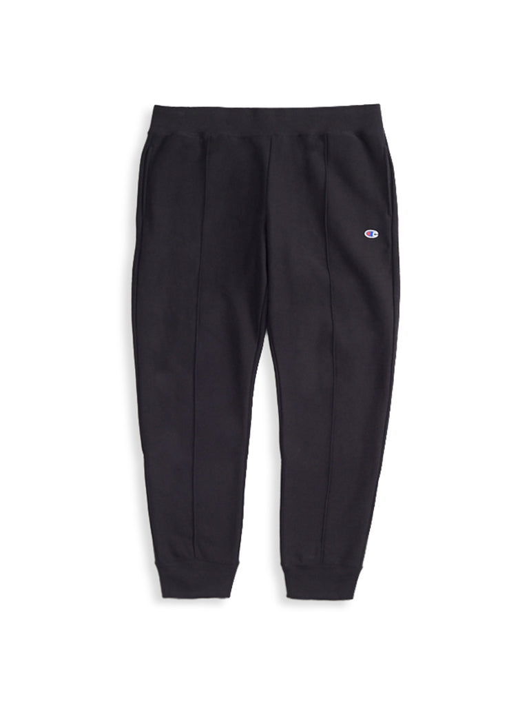 Rib Cuff Sweatpants- Black