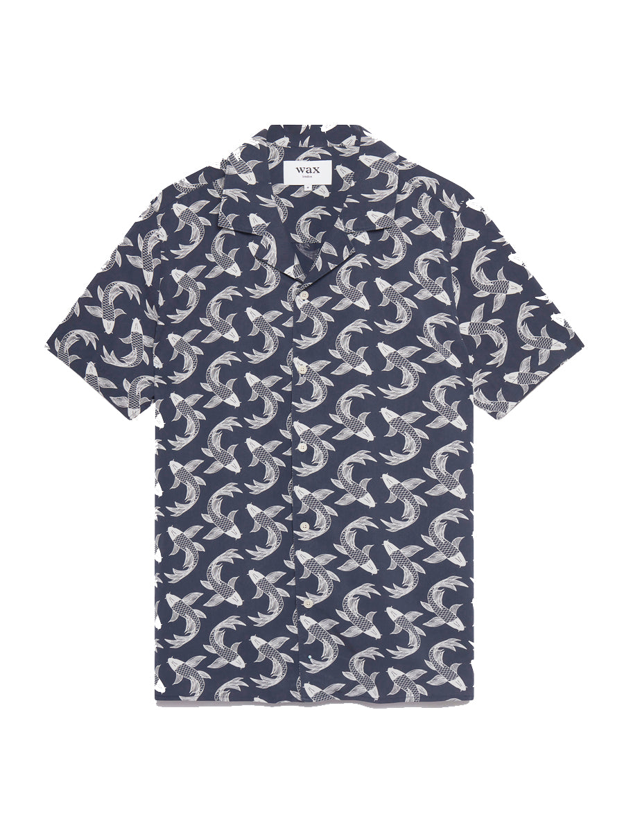 Didcot S/S Shirt- Pisces Print
