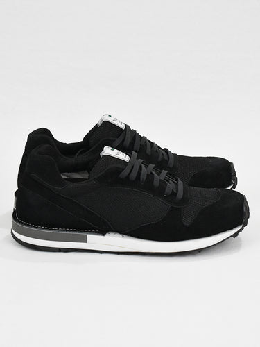 Speed- Black Suede/Black Mesh