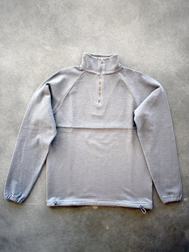 le zip sweat- Grey