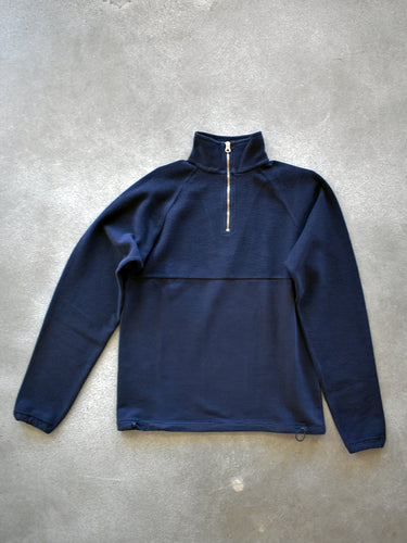 le zip sweat- Navy