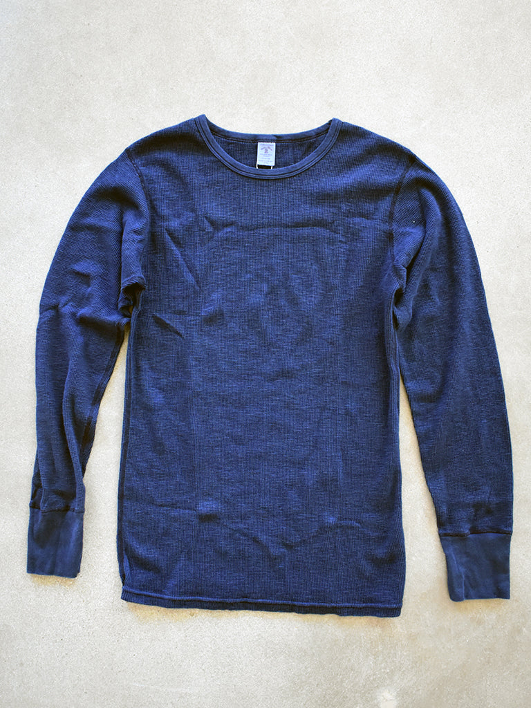 1 Pack- Slub Thermal- Indigo