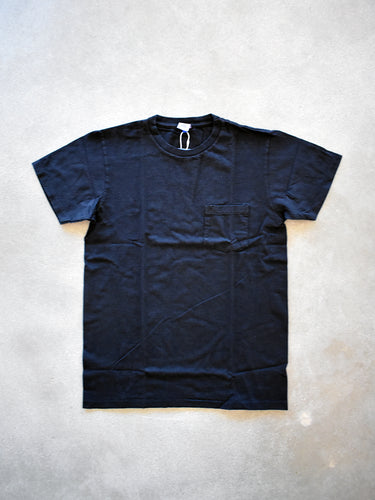 1 Pack- Crewneck Tee- Black Indigo