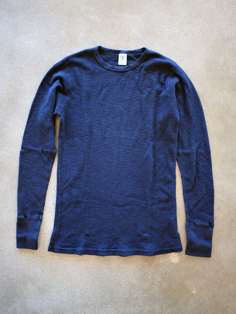 1 Pack- Slub Thermal- Navy