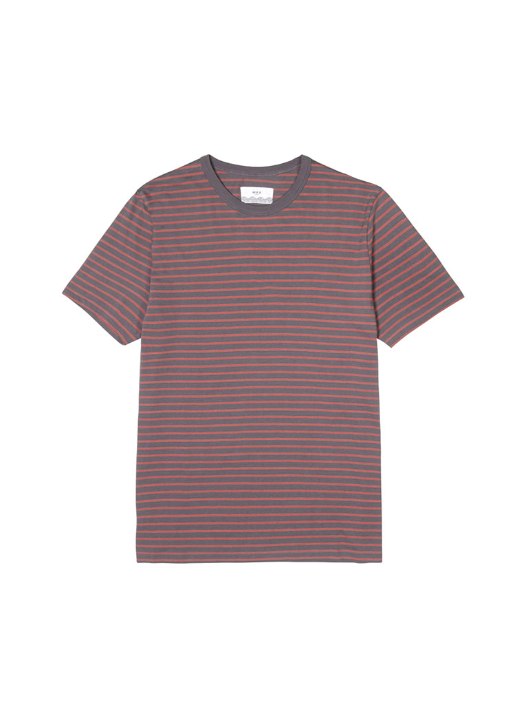 Duval Tee- London Grey/Redwood