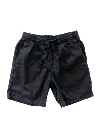 Light Twill Easy Short- Black