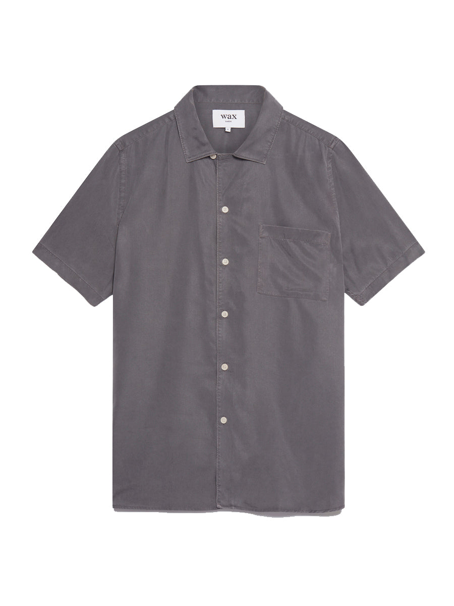 Fazely S/S Shirt- London Grey
