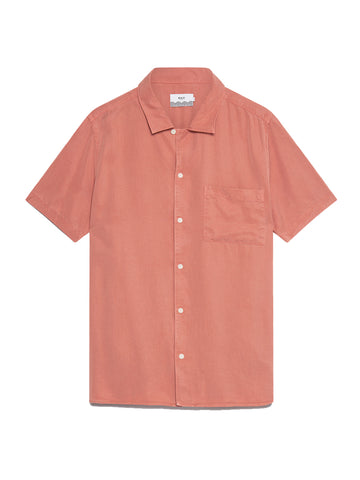 Fazely S/S Shirt- Redwood
