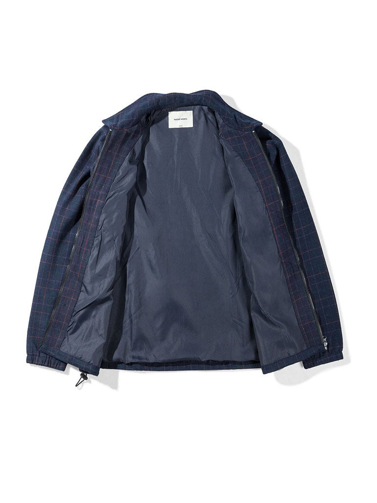 Gofer Wool Jacket- Navy