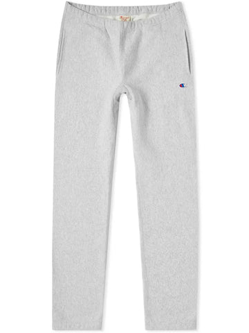 Reverse Weave Joggers- Oxford Grey
